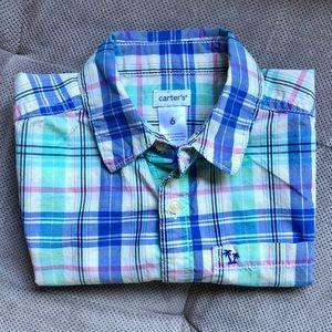 Carters Boys Button Down Shirt